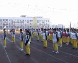 2019加美中学部运动会开幕式