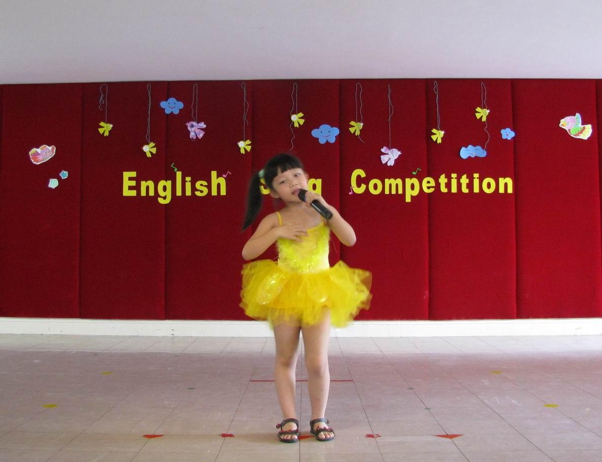 幼儿园pyp国际班英语歌唱比赛--加美学校新闻