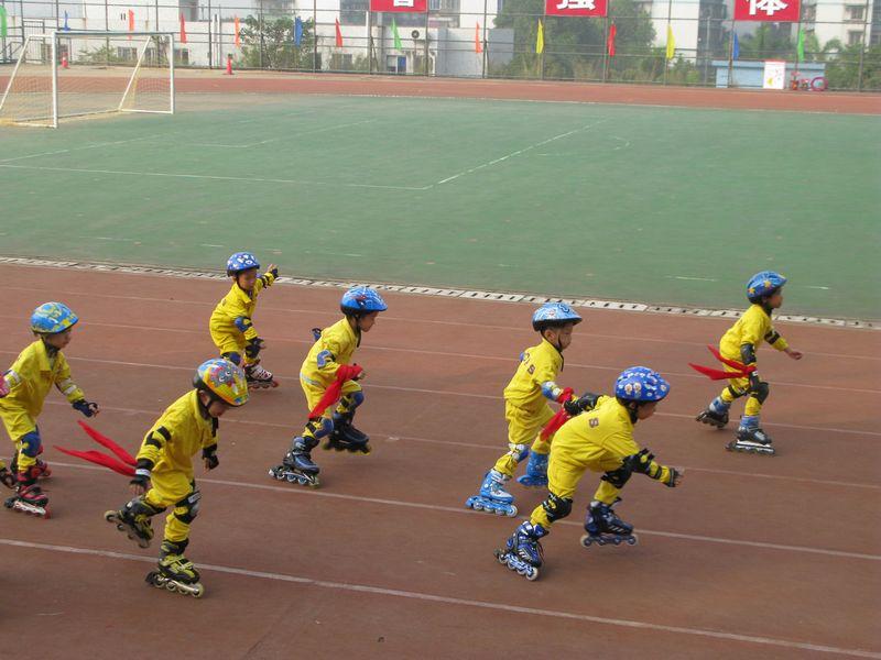 会的小运动员幼儿园运动会班牌