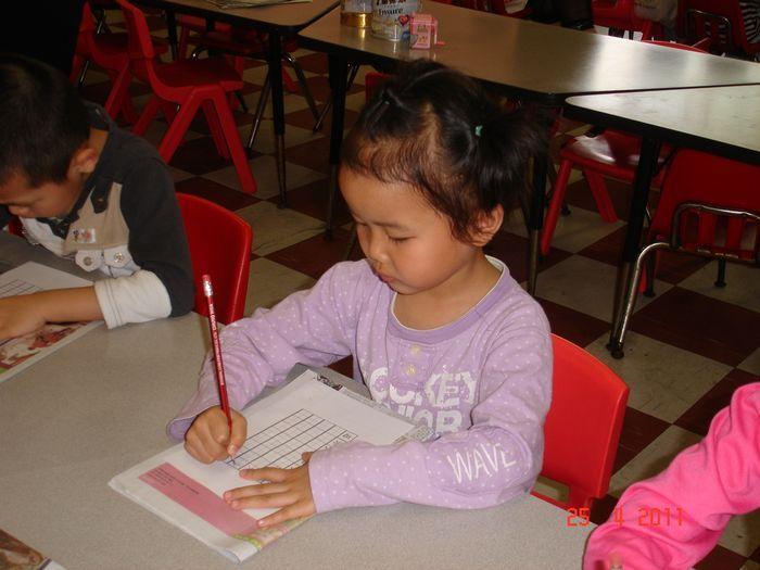 鼓励幼儿养成良好的书写习惯