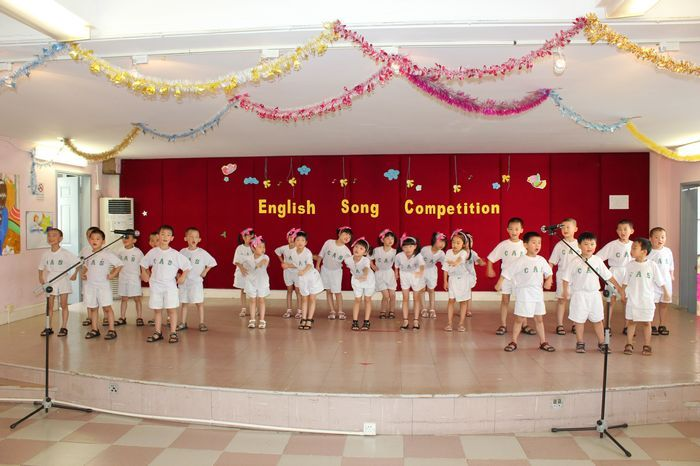 英语合唱比赛图片
