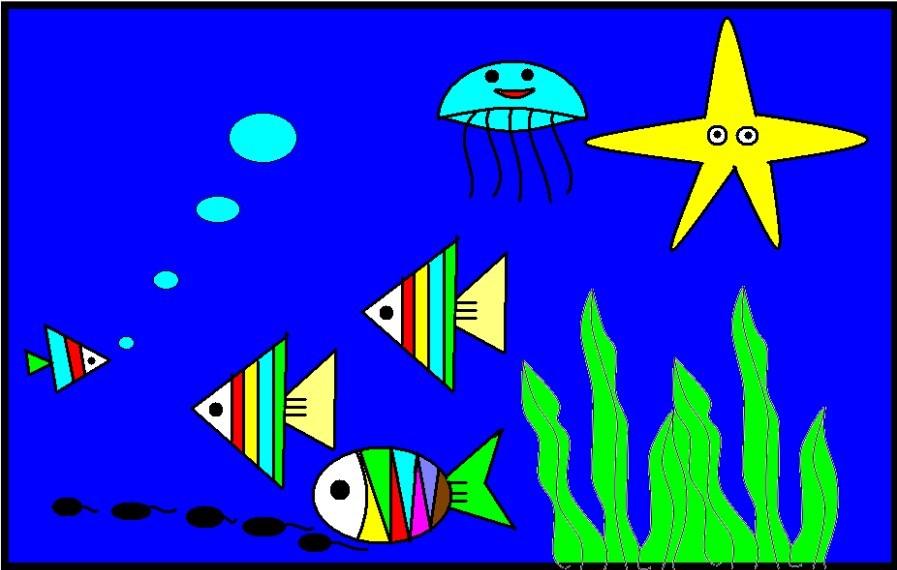 我们心中的海底世界(二年级W