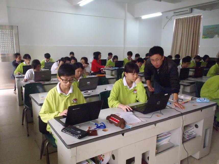 广州市/广州市第二十三中学到我校开展交流活动...