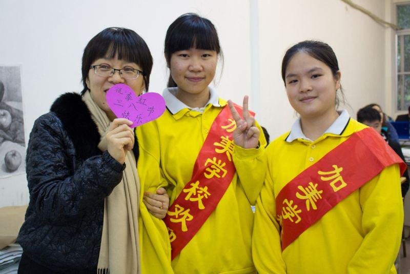 淑气芝兰茂,春风桃李香——高中部向全体女教师送上节日